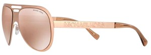 Michael Kors NWT Michael Kors Clementine MK5011 Rose Gold Aviators Sunglasses