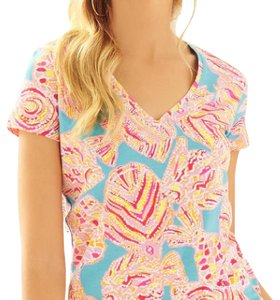 Lilly Pulitzer T Shirt Breakwater blue