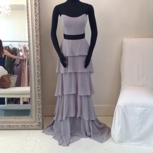 Badgley Mischka Silver Bm15-9 Dress