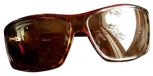 Gucci Gucci dark brown sunglass