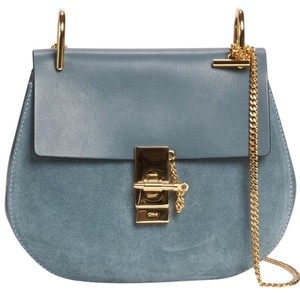 Chloé Drew Small Suede Cross Body Bag