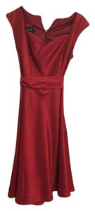 Other Red Holiday Christmas Burgundy Dress