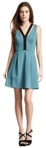 Plenty by Tracy Reese short dress Blue Green on Tradesy