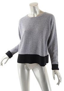 Project 100% Cashmere Crop W/rear Buttons Sweater