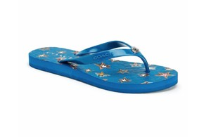 Coach blue star Sandals