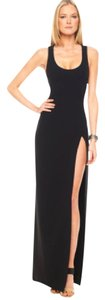 Michael Kors Gown Thigh High Slit Backless Dress