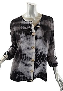 ZOE Couture 100% Cashmere Tie Dye Cardigan