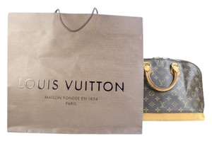 Louis Vuitton Alma Lockit Lock It Speedy Satchel