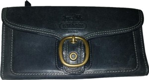 Coach Coach Leather Wallet w/Checkbook Cover