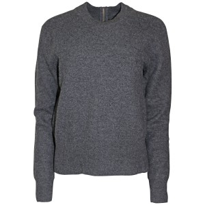 J.Crew Wool Back-zip Relaxed Fit Sweater