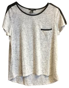 Forever 21 T Shirt Gray and black