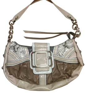 Guess Chain White Shoulder Bag