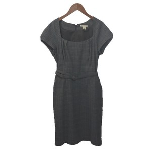 Banana Republic Belted Polyester Rayon Dress