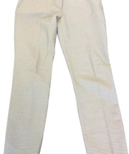 Burberry Trouser Pants light blue/grey and salmon stripes