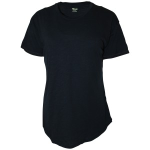 Madewell Tee Crowneck Cotton Small T Shirt Black