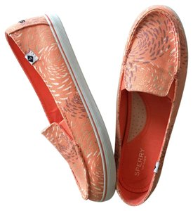 Sperry orange Flats