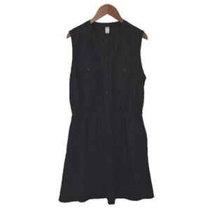 Old Navy short dress BLACK Fitted Elastic Polyester Spring on Tradesy