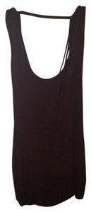 Nordstrom Open Back Braided Summer Top Brown
