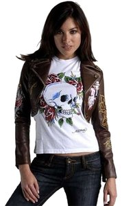 Ed Hardy Brown Jacket