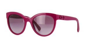 Chanel Chanel 5315 Pantos Shiny Fuschia Cat-Eye Authentic Sunglasses