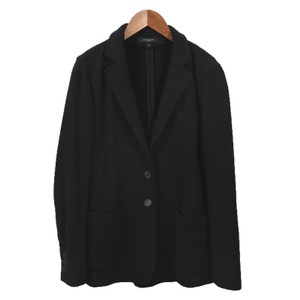 Ann Taylor Fitted Longsleeve Cotton Spring Casual BLACK Blazer