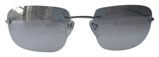 Preload https://item3.tradesy.com/images/bvlgari-silver-minimalist-ultralight-rimless-frame-gray-gradient-lenses-case-made-in-italy-sunglasse-2106532-0-0.jpg?width=440&height=440