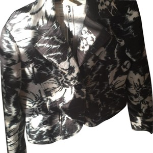 Harvé Benard black and cream Jacket