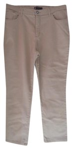 Lee Straight Pants beige