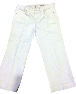 New York & Company Capri/Cropped Pants white