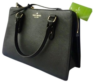 Kate Spade Lise Mulberry Satchel in Black