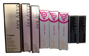 NIB Mary Kay 8 piece Lot Jelly glosses, true dimension lipsticks, lash primers, lip primer Timewise