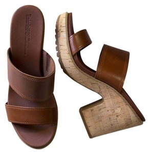 Timberland Slide Platform brown Sandals