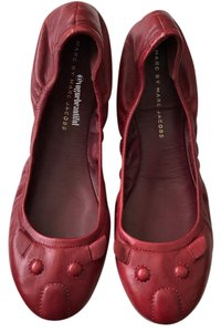 Marc by Marc Jacobs Burgundy Flats