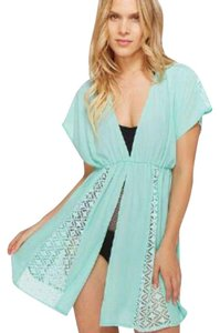Miken Swimsuit beach cover up mint green