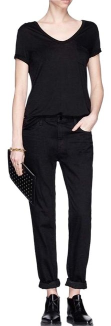 Item - Black Dark Rinse 002 Relaxed Fit Jeans Size 25 (2, XS)