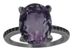 Orchid Jewelry Pink Amethyst & Spinal Oval-cut Ring