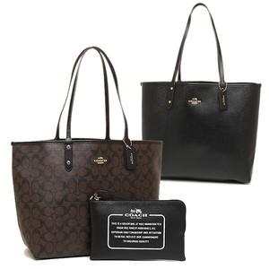 Coach Travel Oversized Large Multifunction Monogram Tote in Black
