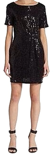 Preload https://item1.tradesy.com/images/ella-moss-black-gathered-sequined-cocktail-dress-size-8-m-2106655-0-0.jpg?width=400&height=650