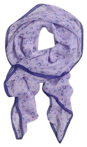 J.Crew J.CREW BEAUTY SQUARE SCARF LILAC/PURPLE