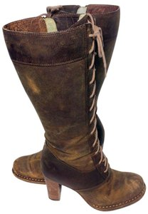 Frye 77610 Villager Villager Lace Size 6 Women Size 6 Brown Boots