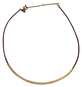 Madewell Madewell Leather & Metal Necklace