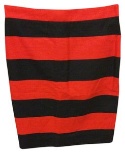 J.Crew Skirt Navy; red