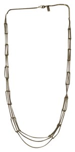 Madewell Madewell Silver Multi-Chain Necklace