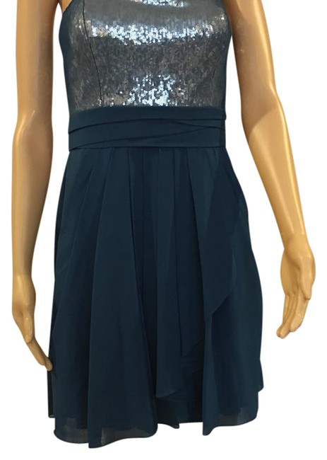 Item - Turquoise Mid-length Night Out Dress Size 6 (S)