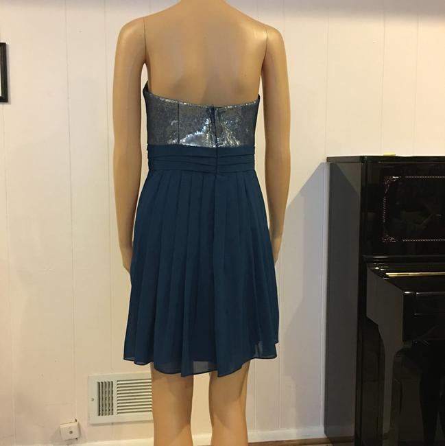 Aidan Mattox Turquoise Mid-length Night Out Dress Size 6 (S) Aidan Mattox Turquoise Mid-length Night Out Dress Size 6 (S) Image 3