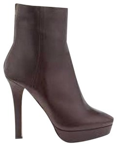 Jimmy Choo Magic Platform Ankle Brown Boots