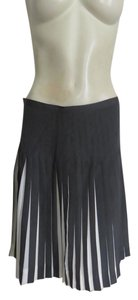 J.Crew Skirt DARK GRAY WHITE BACK GROUND