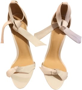 Alexandre Birman white leather Sandals