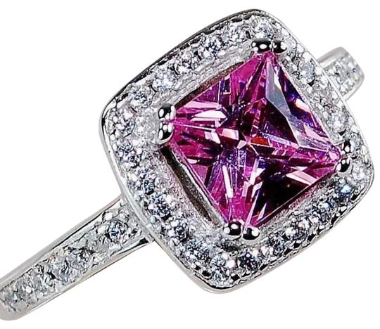 Preload https://item3.tradesy.com/images/pink-925-sapphire-and-white-topaz-ring-21067192-0-1.jpg?width=440&height=440