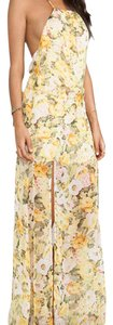Floral Maxi Dress by Lovers + Friends Maxi Yellow